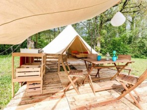 1 bedroom Tent near Recoubeau-Jansac, Drôme, Rhone Alps, France