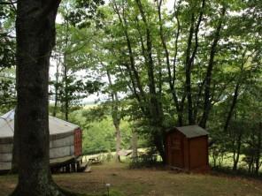 1 bedroom Yurt near Gensac De Boulogne, Haute-Garonne, Midi-Pyrenees, France