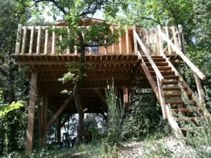 1 bedroom Cabin on Stilts near Barjols, Var, Provence-Cote d`Azur, France