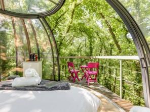 1 bedroom Dome near St Antonin Noble Val, Tarn-et-Garonne, Midi-Pyrenees, France