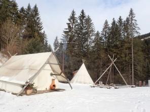 1 bedroom Tent near Mont-Saxonnex, Haute-Savoie, Rhone Alps, France