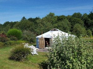 1 bedroom Yurt near Caro, Morbihan, Brittany, France