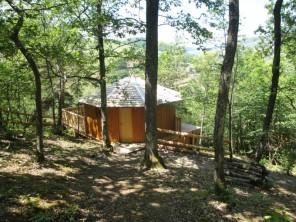 1 bedroom Cabin on Stilts near Quincié En Beaujolais, Rhône, Rhone Alps, France