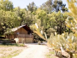 2 bedroom Safari Lodge near Trets, Bouches-du-Rhône, Provence-Cote d`Azur, France