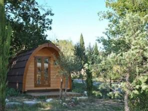 1 bedroom Pod near Vogüé, Ardèche, Rhone Alps, France