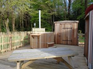 1 bedroom Yurt near Pleyber-Christ, Finistère, Brittany, France