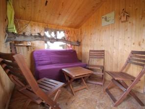 1 bedroom Treehouse near Hénanbihen, Côtes-d'Armor, Brittany, France