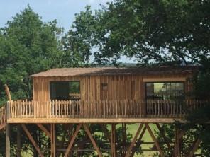 1 bedroom Cabin on Stilts near Saint Remy Sur Lidoire, Dordogne, Nouvelle Aquitaine, France