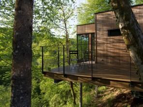 1 bedroom Cabin on Stilts near Meyrignac L'Eglise, Corrèze, Nouvelle Aquitaine, France