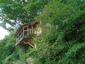 3 bedroom Cabin on Stilts near Saint Goazec, Finistère, Brittany, France