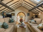 Fabulous views over the landscaped gardens