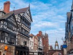City of Chester within easy reach of the property