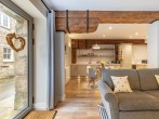 Inviting open-plan living space