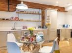 Kitchen/diner ideal for preparing great food