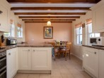 Well equipped kitchen with breakfast table