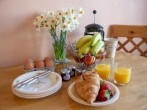 Grab a quick breakfast before a days exploring