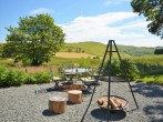 Glorious views from the fire pit - perfect for toasting marshmallows as the sun sets!