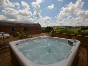 1 bedroom Chalet / Lodge near Tiverton, Devon, England