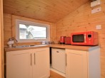 Self-contained kitchen area
