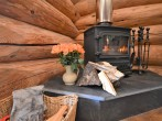 Cosy up by the woodburner