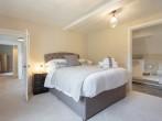 King-size bedroom with en-suite bathroom