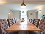 Grand dining room for a formal dinner with your guests