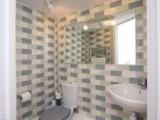 Well equipped kitchen with views over the garden