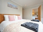 Double bedroom with freshly laundered linen