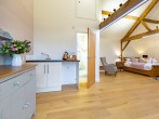 Spacious lodge for two
