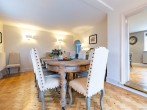 Celebrate in style in the large dining room
