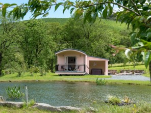 1 bedroom Chalet / Lodge near Llangammarch Wells, Powys / Brecon Beacons, Wales