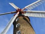 Beautiful working windmill