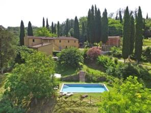 4 bedroom Villa near Peccioli, Tuscany, Italy