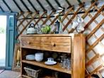 Yurt 4, East Thorne Farm #6