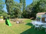 Garden & play area