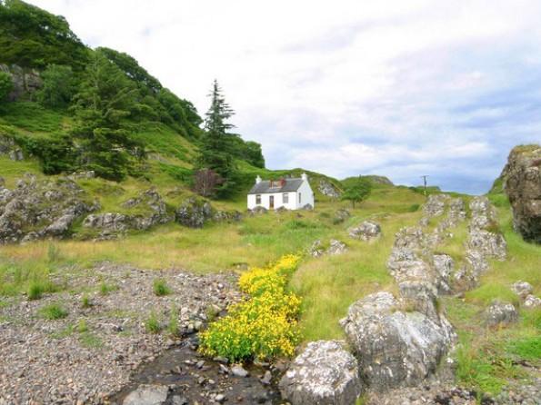 3 Bedroom Secluded Cottage In Scotland Argyll Oban West
