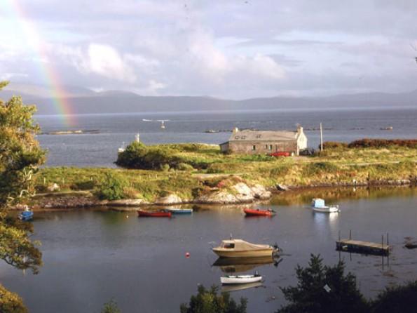 Rainbow over Pier Cottage
