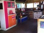 Shared camp kitchen