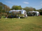 2 Bedroom Rural Airstream Caravans in England, Suffolk, Saxmundham