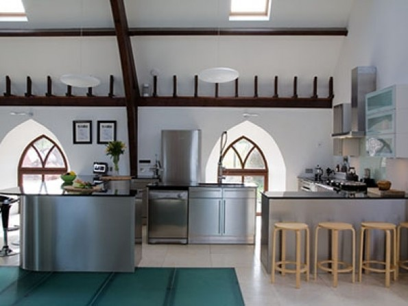 5 bedroom luxury church conversion in scotland borders kelso for Luxury kitchens scotland