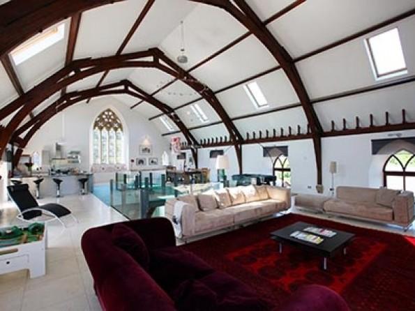 5 Bedroom Luxury Church Conversion In Scotland Borders Kelso