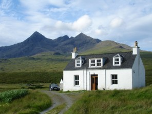 4 Bedroom Secluded Rural Former Shepherd`s Cottage on the Isle of Skye, Scotland