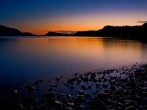 Knoydart Beach by night