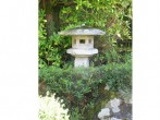 Rock garden birdhouse