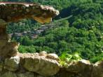 A framed Tuscan Village