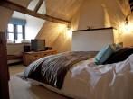 Teal bedroom