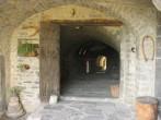 Stone entrance archway