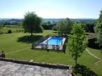 Pool from upper terrace