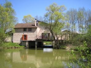 4 Bedroom Stylish Watermill in France, Burgundy, Montpont-en-Bresse