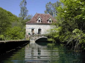 3 Bedroom Peaceful Watermill in France, Midi-Pyrenees, Cajarc